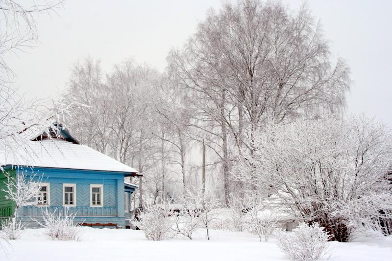 фото деревни зимой (15)