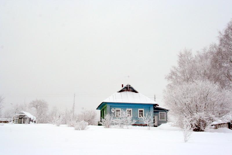фото деревни зимой (9)