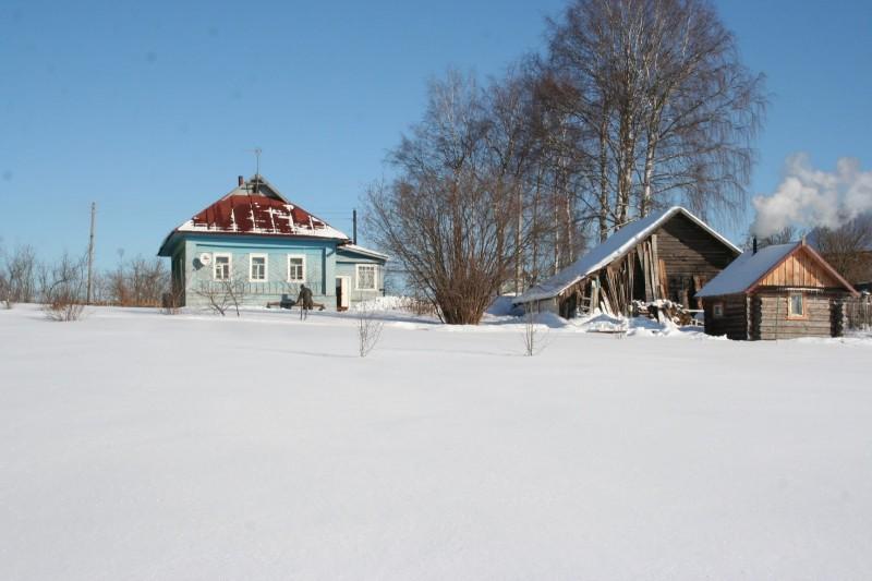 Март, весна в деревне (5)