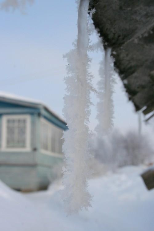 Русская деревня зимой (9)