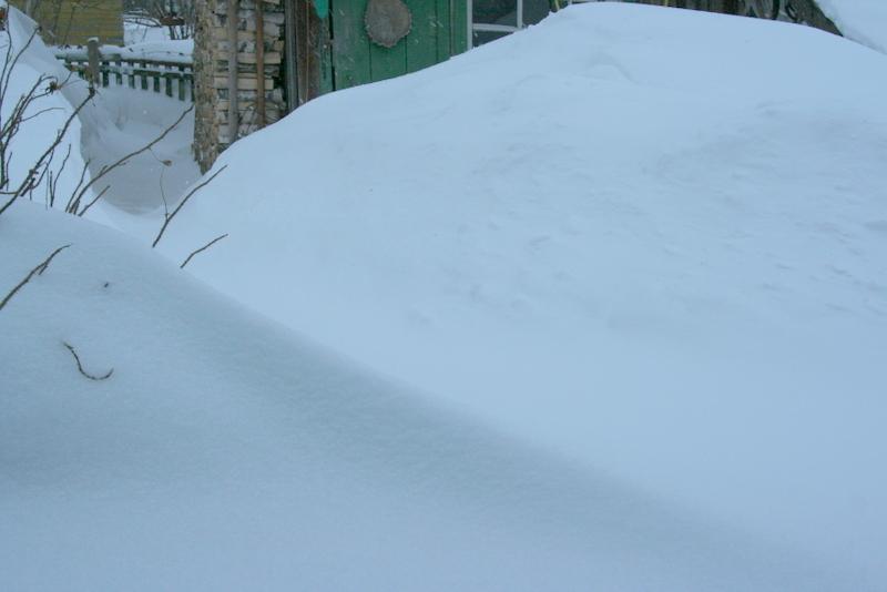 Снегопад в деревне (43)