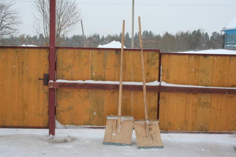 Снегопад в деревне (28)