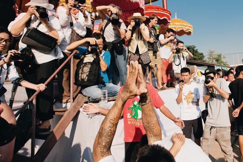 Фотографы на фестивале Сак Янт