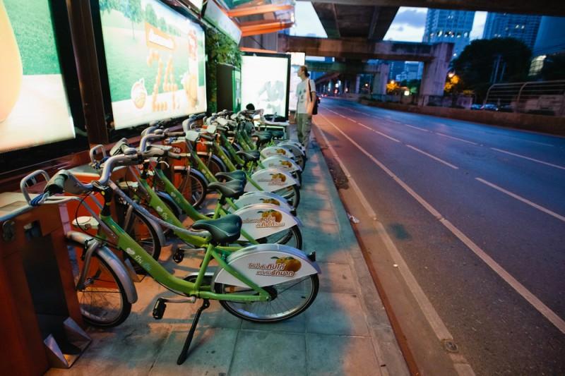 Pun Pun Bicycle прокат велосипедов Бангкок