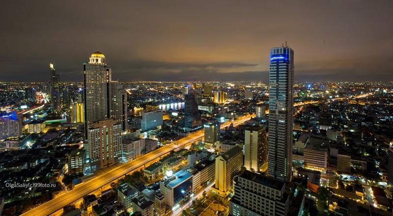 Лебуа отель Бангкок ночью
