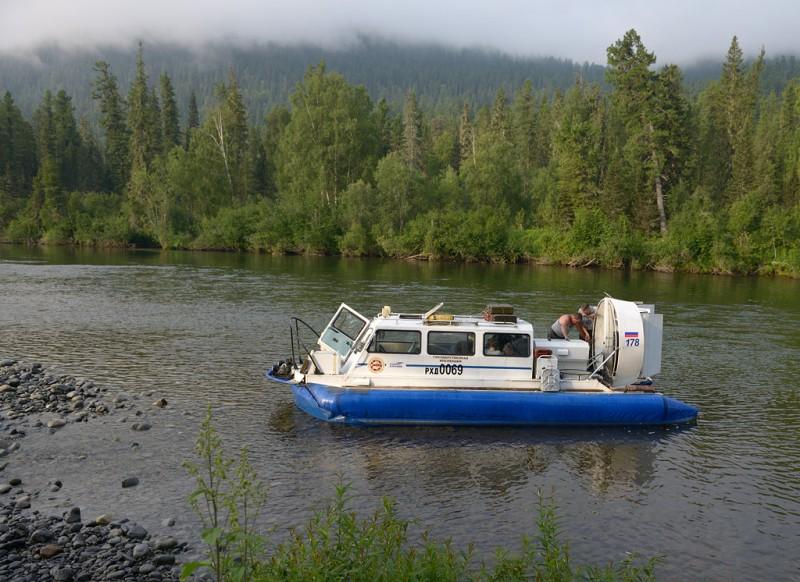 Река Абакан до устья Ерината к Агафье