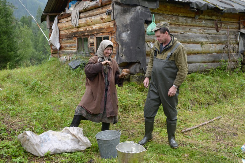 Как живёт Агафья Лыкова