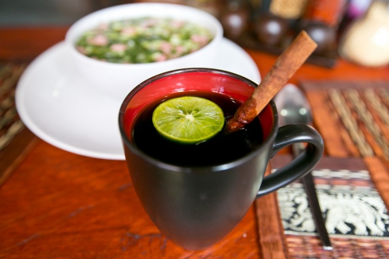Зелёный чай на Самуи