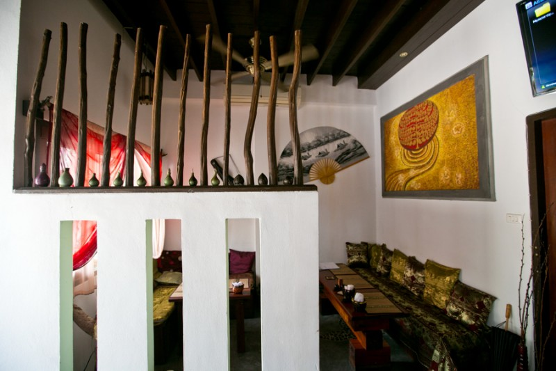 Русское кафе на Самуи Синий слон
