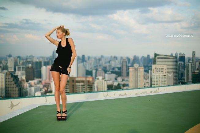 прогулки по крышам Бангкок