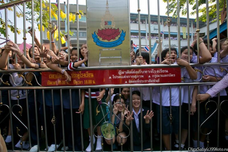 Митинги Бангкок Тайланд (40)