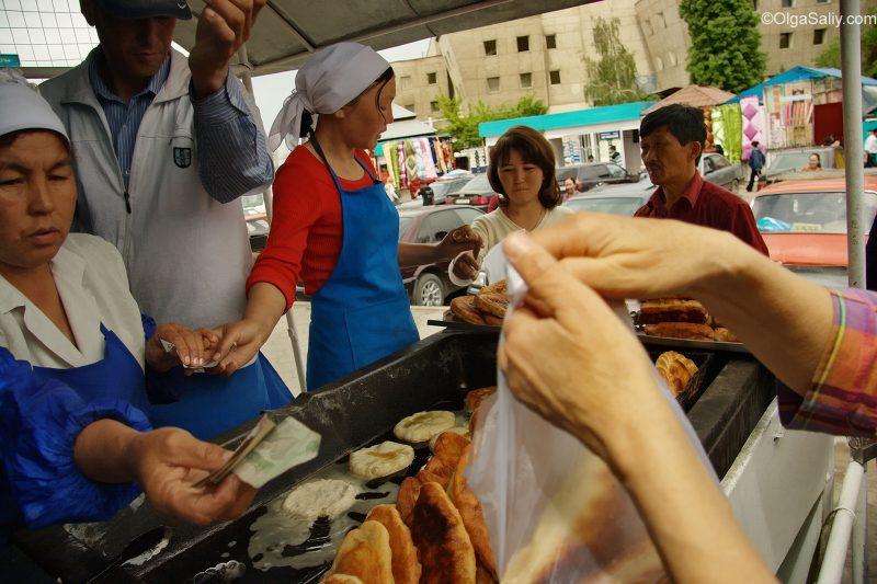 Рынок в Бишкеке