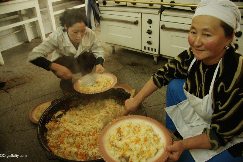 Киргизский плов, Бишкек