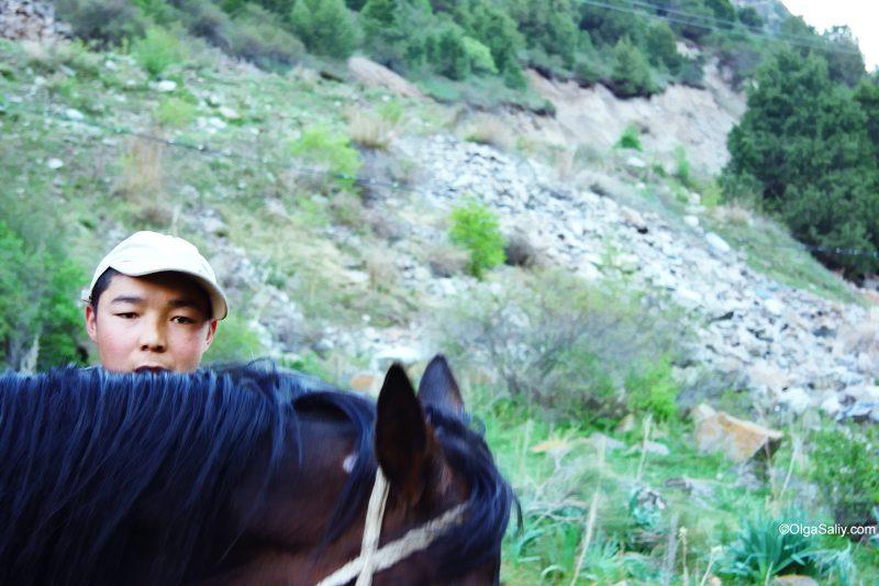 Чабан в Тянь-Шанских горах