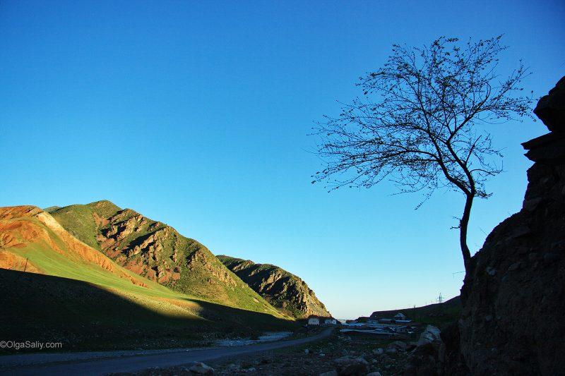 Ущелья возле Бишкека в ТяньШанских горах
