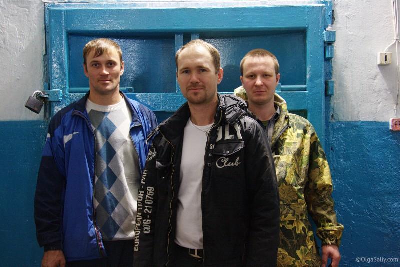 Евгений Бойко, Олег Гогилеани, бывшие жители Итатки