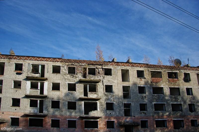 Заброшенная пятиэтажка