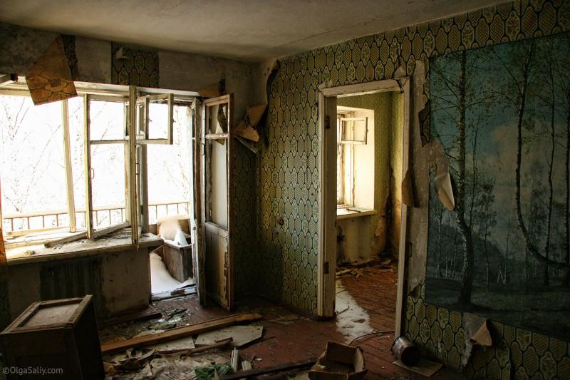 Заброшенные квартиры в Итатке