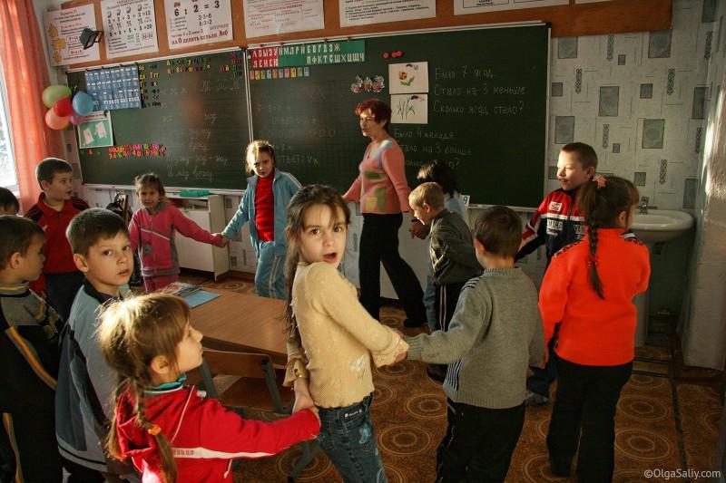 Школа в Итатке