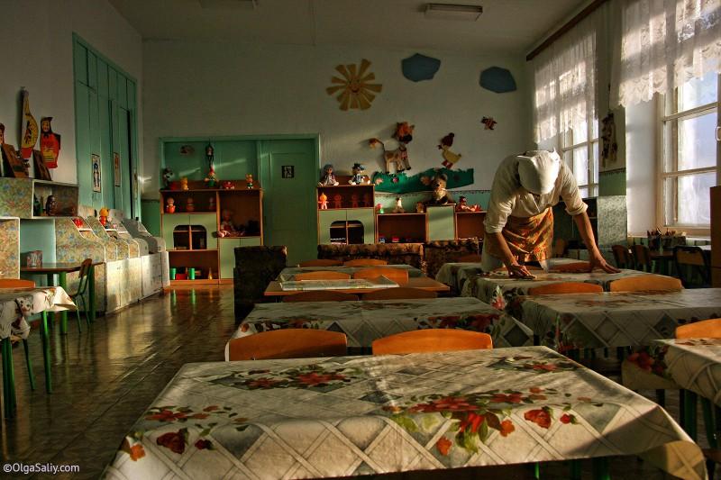 Городок Томский, Итатка - детский сад