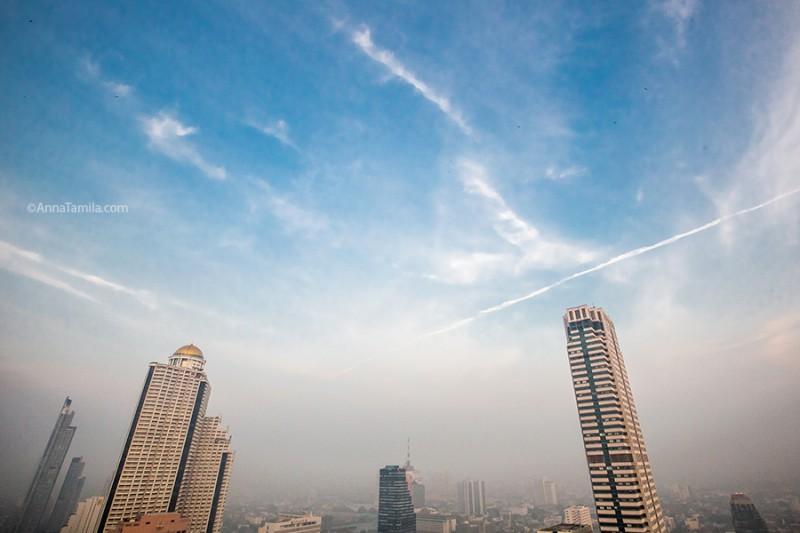 Небо над Бангкоком Тайланд