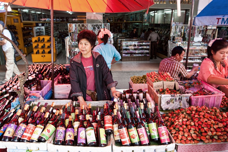 Вино на Севере Таиланда
