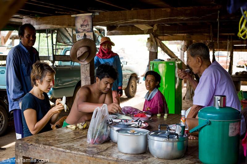 Завтрак в Таиланде