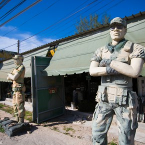 Военный магазин в Паттайе