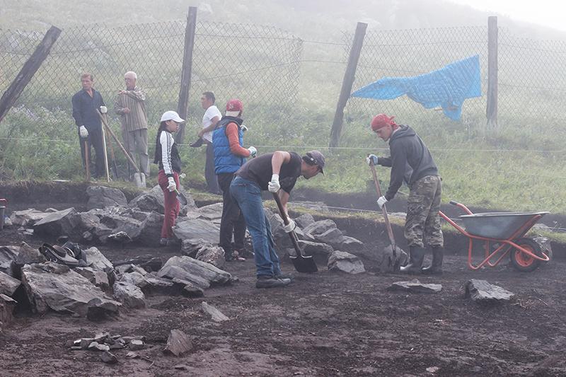 Археологическая экспедиция в Туве