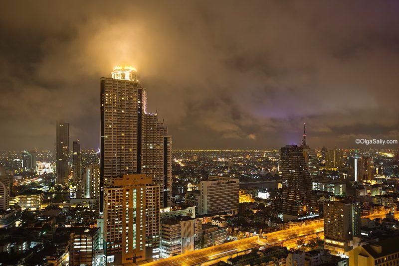 Вид на Лебуа отель в Бангкоке