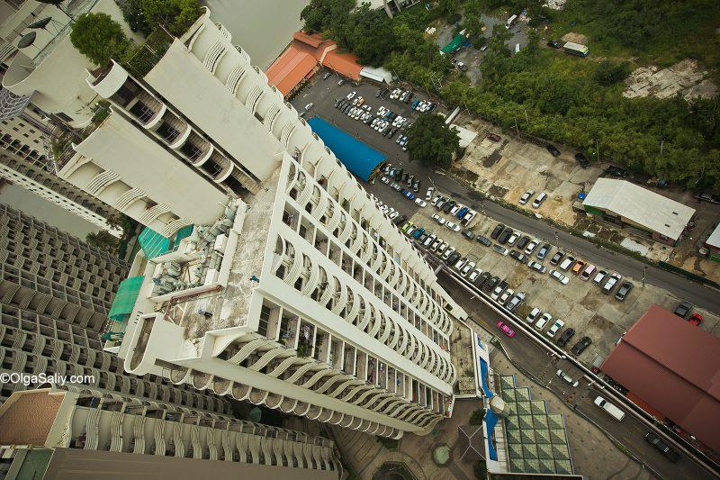 Крыши в Бангкоке, Таиланд