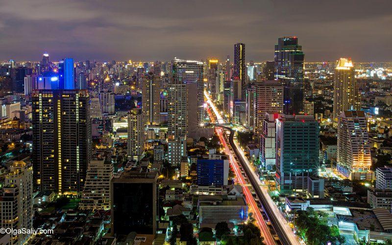 Бангкок. Как выйти на крышу