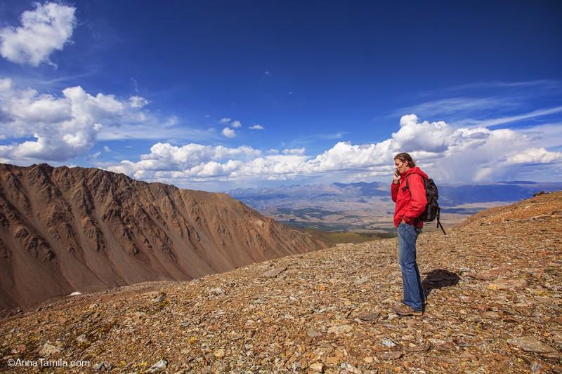 Сотовая связь в горах Алтая только билайн