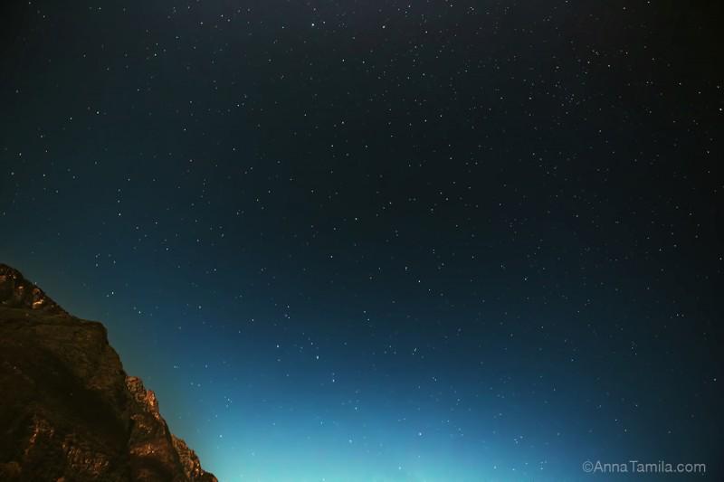 Звездное небо Алтай