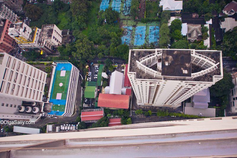 Как забраться на крышу в Бангкоке