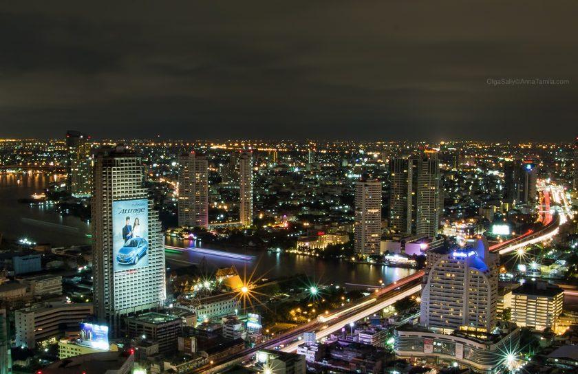 Бангкок, заброшенный небоскреб