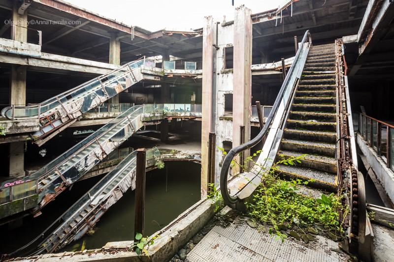 Бангкок, заброшка недалеко от Коасан роуд