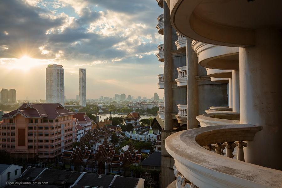 Интересные места в Бангкоке - заброшенный небоскреб