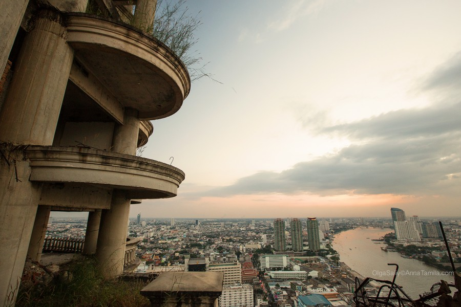 Заброшенный небоскреб, Таиланд Бангкок