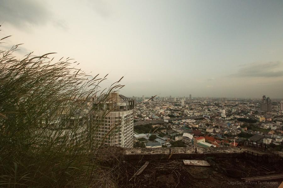 Реальные путешествия по Бангкоку, самый высокий заброшенный небоскреб (9)