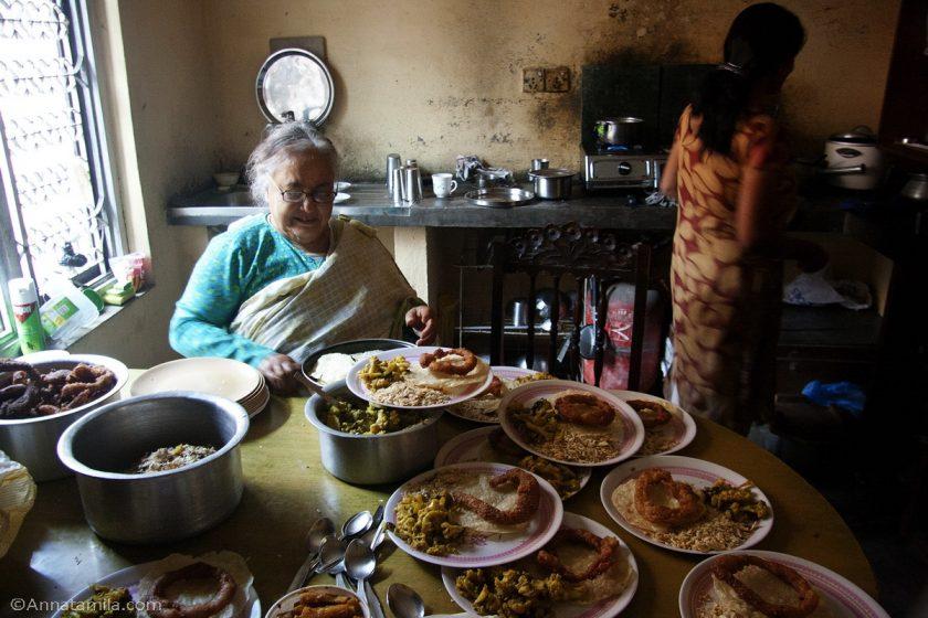 Кухня в непальском доме