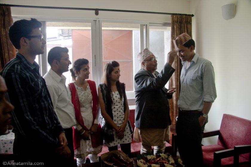 Благословение жениха Непал