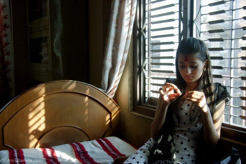 Непальская девушка