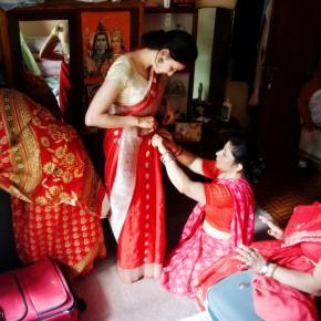 Непальская свадьба, фотоистория