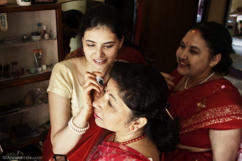 фоторепортаж о непальской свадьбе (75)