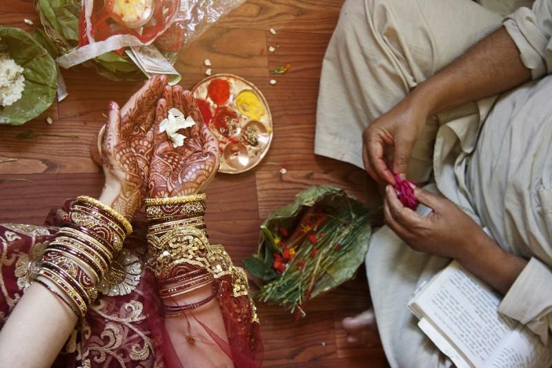 фоторепортаж о непальской свадьбе (61)