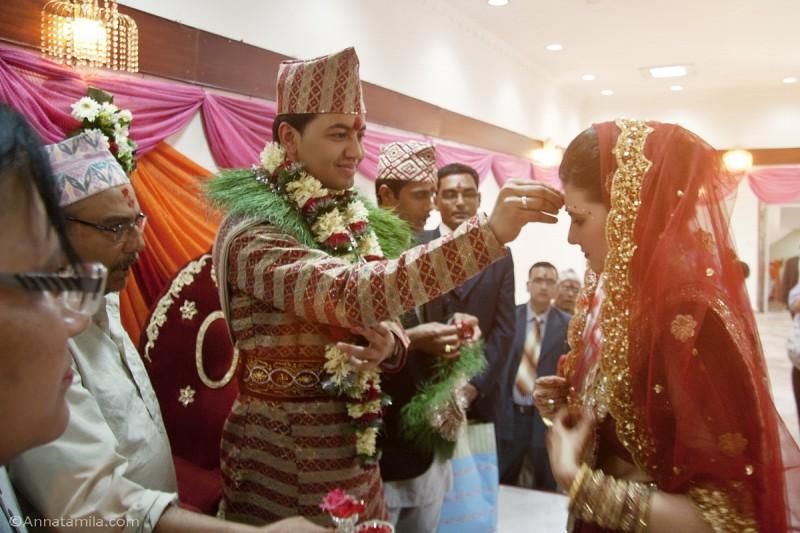 фоторепортаж о непальской свадьбе (58)