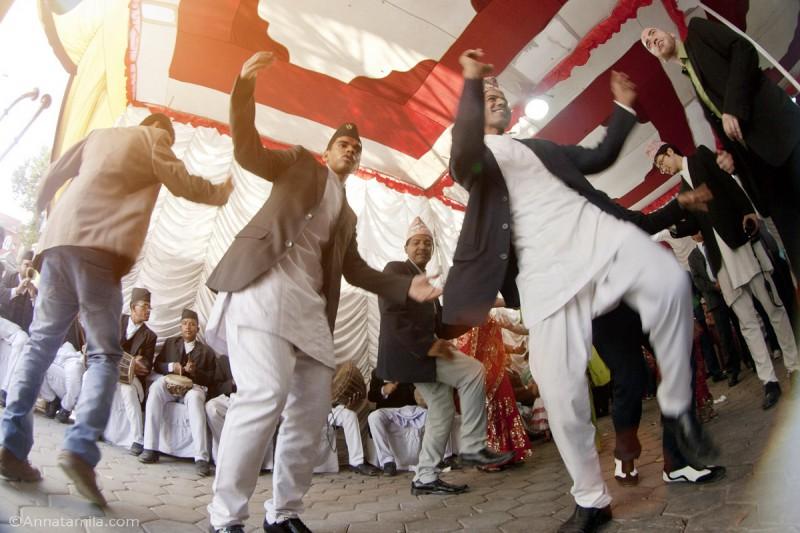 фоторепортаж о непальской свадьбе (50)