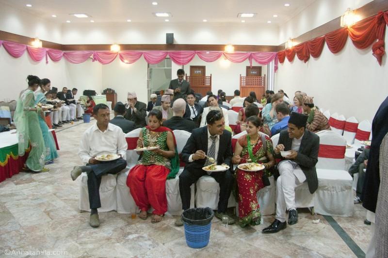 Ресепшн свадьба Непал
