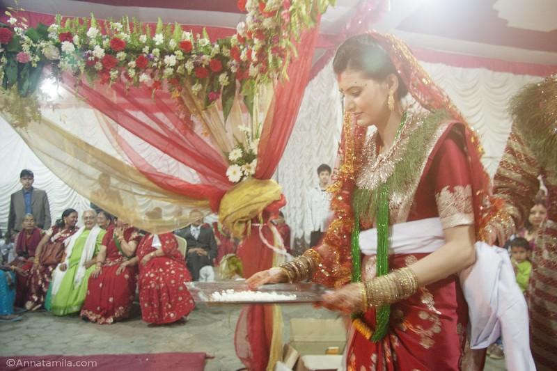 фоторепортаж о непальской свадьбе (39)
